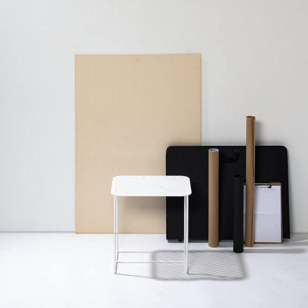 Side table Grid 02 white - Germany