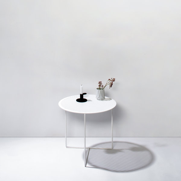 Side table Grid 01 white - Germany