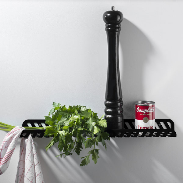 Wall shelf Grid 02 anthracite - Germany